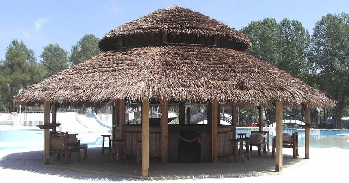 Chiringuito de madera tropical maderexter for Alquiler chiringuito madera
